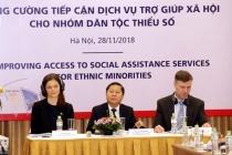 Tăng cường tiếp cận dịch vụ trợ giúp xã hội cho nhóm dân tộc thiểu số