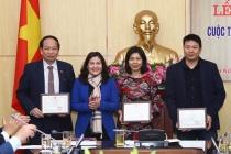 Bộ Lao động – Thương binh và Xã hội tổ chức Lễ Trao giải Cuộc thi viết về bình đẳng giới năm 2018