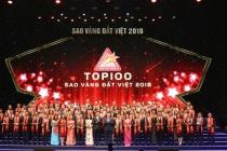 Trao Giải thưởng Sao Vàng đất Việt 2018 cho 200 doanh nghiệp tiêu biểu