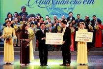 Hơn 150 tỷ đồng đến với trẻ em nghèo cả nước dịp Xuân Kỷ Hợi