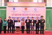 Khánh thành công trình Nhà ăn kiêm hội trường và các công trình phụ trợ tại khu nội trú Trường THCS Môn Sơn