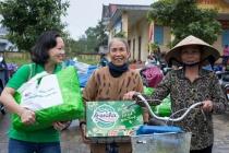 Huda trao 7000 phần quà Tết tới các gia đình miền Trung