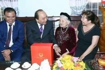 Thanh Trì: Gần 2,2 tỷ đồng tặng quà cho các đối tượng chính sách, bảo trợ xã hội nhân dịp năm mới