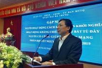 Quận Hai Bà Trưng tặng quà Tết cho người có công với cách mạng nhân dịp Tết Nguyên đán Kỷ Hợi 2019