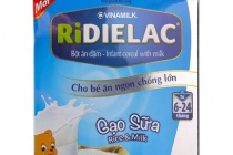 Bột ăn dặm Ridielac Alpha Sữa Ngũ cốc: Có gì đặc biệt?