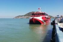 """""""Siêu tàu"""" cao tốc nối TP Vũng Tàu với Côn Đảo đi vào hoạt động"""