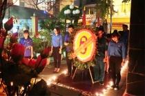 Hơn 12.000 đoàn viên, thanh niên Thủ đô thắp nến tri ân các anh hùng liệt sỹ