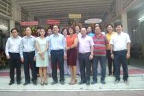 Đại diện lãnh đạo Văn phòng Bộ tại TPHCM thăm và tặng quà chúc mừng ngày Thầy thuốc Việt Nam 27/2 tại Trung tâm Phục hồi chức năng và trợ giúp trẻ khuyết tật tại TP.HCM
