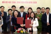 Lễ ký kết Kế hoạch phối hợp giữa Bộ Lao động - Thương Binh và Xã hội và Bộ Giáo dục và Đào tạo về công tác dự phòng, cai nghiện ma túy đối với học sinh, sinh viên.