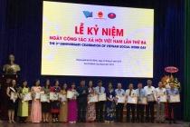 Kỷ niệm Ngày Công tác xã hội Việt Nam lần thứ ba năm 2019: tiếp tục hoàn thiện hành lang pháp lý về phát triển nghề công tác xã hội