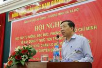 Đảng ủy Bộ Lao động – Thương binh và Xã hội: Tổ chức Hội nghị chuyên đề học tập và làm theo tấm gương đạo đức Hồ Chí Minh năm 2019