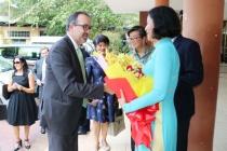 Bộ trưởng Phụ trách về Việc làm, Đổi mới & Thương mại Úc thăm và làm việc với Trường Cao đẳng nghề TPHCM