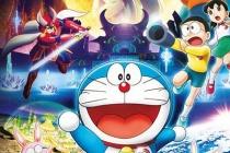 Doraemon hóa 'thỏ ngọc' trong chuyến phiêu lưu đến 'nhà chị Hằng'