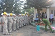 Công ty Cổ phần Thủy điện Thác Bà tăng cường huấn luyện nghiệp vụ an toàn lao động, phòng cháy chữa cháy
