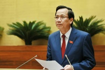 Minister Dao Ngoc Dung submitted to the National Assembly draft of Labor Code (revised)