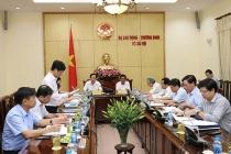 Triển khai Quyết định kiểm tra của Ban Bí thư tại Bộ Lao động – TBXH