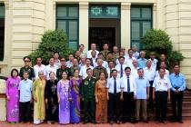 Đoàn đại biểu người có công Nam Định thăm Bộ Lao động-Thương binh và Xã hội