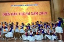 """Diễn đàn """"Trẻ em với các vấn đề về trẻ em"""" quận Ba Đình"""