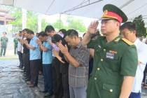 Huyện Đồng Hỷ (Thái Nguyên) truy điệu và an táng hài cốt 11 liệt sỹ trong kháng chiến chống Pháp