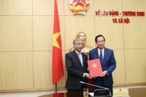 Bộ trưởng Đào Ngọc Dung: '...Thứ trưởng Doãn Mậu Diệp hoàn thành xuất sắc nhiệm vụ và có nhiều đóng góp cho ngành...'