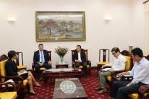 Thứ trưởng Lê Văn Thanh tiếp xã giao Tổng Giám đốc Nike Việt Nam