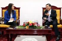 Thứ trưởng Lê Tấn Dũng tiếp tân Trưởng đại diện UNFPA tại Việt Nam