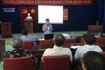 Cảng Quy Nhơn tổ chức huấn luyện ATVSLĐ cho người lao động