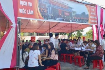 Trung tâm Dịch vụ việc làm tỉnh Nam Định: Nỗ lực tư vấn giải quyết việc làm cho người lao động
