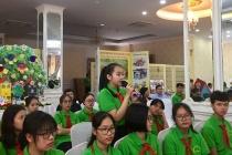Trẻ em Hà Nội thực hiện quyền tham gia và nói lên suy nghĩ của mình