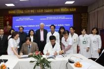 Trường Đại học Kinh doanh và Công nghệ Hà Nội ký kết hợp tác đào tạo thực hành cho sinh viên ngành Dược và Điều dưỡng với Bệnh viện Thanh Nhàn