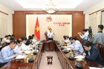 Bộ trưởng Đào Ngọc Dung: Xây dựng văn bản dưới luật phải hướng tới lợi ích của người dân