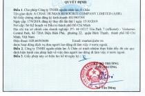 Bộ LĐTBXH cấp Giấy phép hoạt động dịch vụ đưa người lao động đi làm việc ở nước ngoài cho Công ty TNHH nguồn nhân lực Á Châu