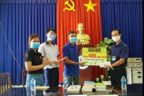 Trao tặng 400 sách nhân kỷ niệm ngày sách Việt Nam