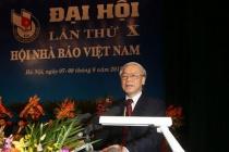 Tổng Bí thư, Chủ tịch nước Nguyễn Phú Trọng gửi thư chúc mừng Hội Nhà báo Việt Nam