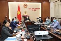 Hội nghị trực tuyến Bộ trưởng Lao động và Việc làm G20 về tác động của Covid-19