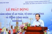 Phát động Tháng hành động về An toàn, vệ sinh lao động và Tháng Công nhân năm 2020