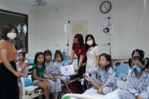 Lan tỏa yêu thương đến trẻ em mắc chứng tan máu bẩm sinh