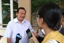 Ông Lê Minh Tấn: Trung tâm Thị Nghè chia gạo, mì gói cho người lao động chứ không phải chia tiền mặt
