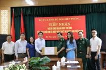 500 phần quà đã được trao tặng con em chiến sĩ Bộ Tư lệnh Bộ đội Biên phòng
