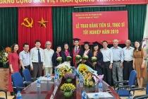 Trường Đại học Sư phạm Hà Nội trao Bằng tốt nghiệp cho các tân Tiến sĩ, Thạc sĩ