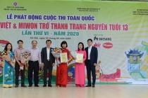 """Lễ phát động Cuộc thi """"Cùng Đức Việt & Miwon trở thành Trạng Nguyên tuổi 13"""" lần thứ VI – năm 2020"""