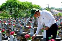 Đoàn đại biểu Thủ đô thăm viếng Nghĩa trang liệt sỹ Việt – Lào: Nơi có 246 liệt sỹ quê quán Hà Nội