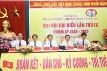 Phiên trù bị Đại hội đại biểu Đảng bộ Bộ LĐ-TBXH lần thứ IX, nhiệm kỳ 2020-2025