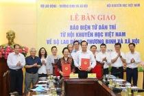 Báo Dân trí được chính thức bàn giao về Bộ Lao động-Thương binh và Xã hội