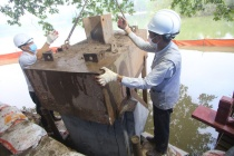 Chính thức hợp long toàn tuyến kè hồ Hoàn Kiếm