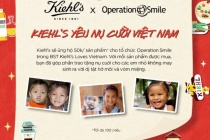 Kiehl's loves Vietnam chung tay mang lại nụ cười cho trẻ em kém may mắn tại Việt Nam