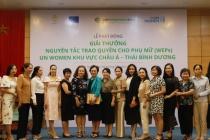Phát động giải thưởng Nguyên tắc trao quyền cho phụ nữ