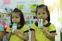 Sữa học đường giảm bớt gánh lo cho phụ huynh mùa Covid – 19