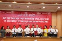 Hà Nội: Tăng cường phối hợp triển khai thực hiện chế độ BHYT