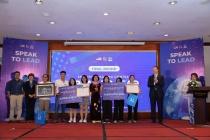 Đội THPT Chuyên Thoại Ngọc Hầu (An Giang) giành ngôi quán quân Cuộc thi hùng biện Tiếng Anh Speak to Lead 2020